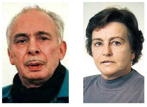 Hafsteinn Ólafsson og Elín Haraldsdóttir